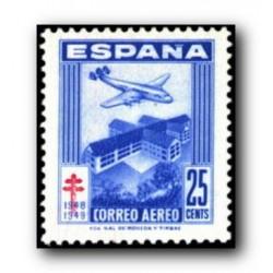 1948 Sellos de España (1040/43). Pro Tuberculosos.