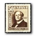 1948 Sellos de España. Centenario del Ferrocarril. Edif. 1037/39 *