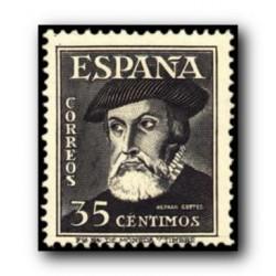 1948 Sellos de España (1035). Personajes. Hernán Cortés