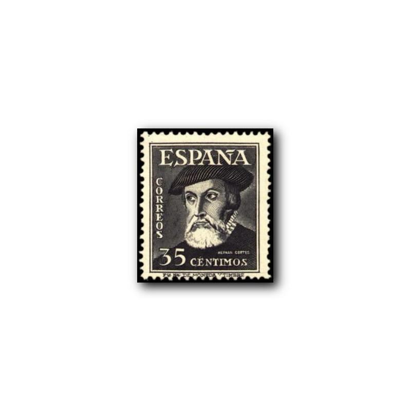 1948 Sellos de España (1035/36). Personajes.