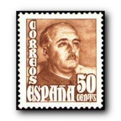 1948 Sellos de España (1022). General Franco.