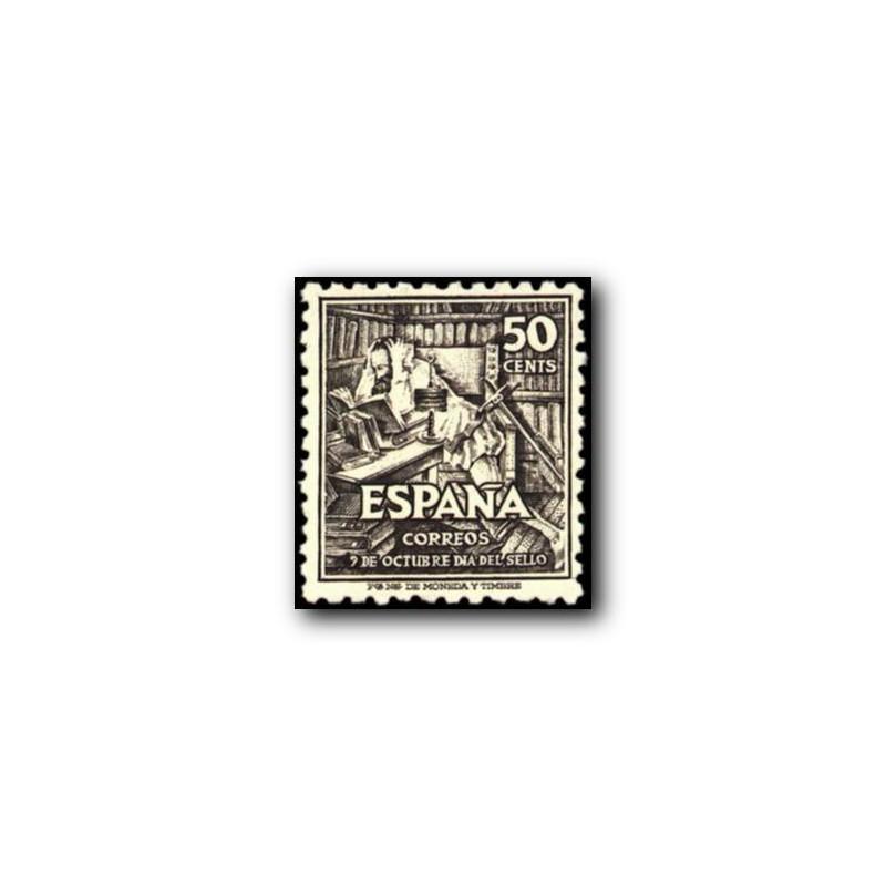 1947 Sellos de España (1012/14). IV Cent. del Nacimiento de Cervantes.