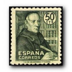 1947 Sellos de España. Padre Benito J. Feijoo. (Edif. 1011)**