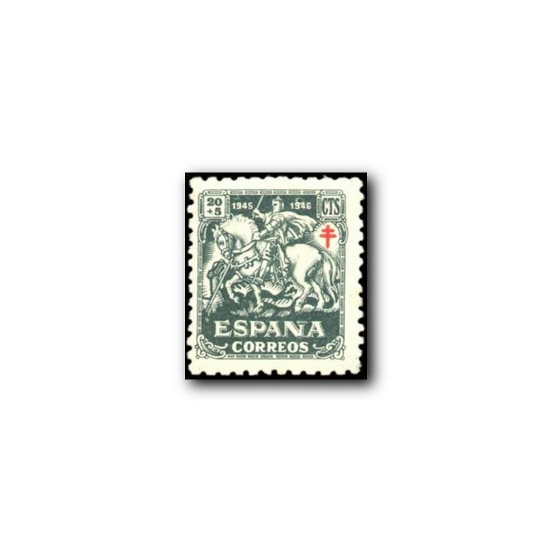 1945 Sellos de España (993Pro Tuberculosos.**