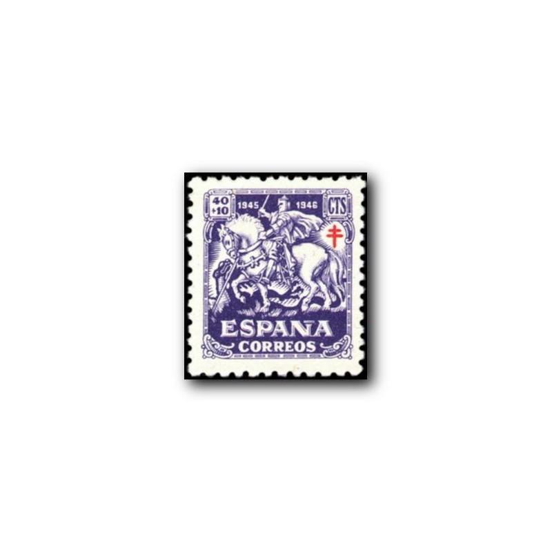 1945 Sellos de España (994). Pro Tuberculosos.**