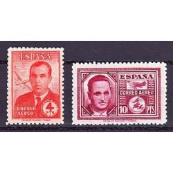 1945 España. Haya y García Morato. Edif.991/992 **