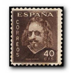 1945 Sellos de España (989). III Cent. de la Muerte de Quevedo.