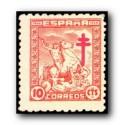 1944 Sellos de España (984/88). Pro Tuberculosis.**
