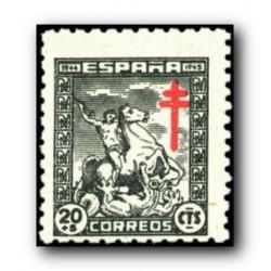 1944 Sellos de España (984Pro Tuberculosis.**