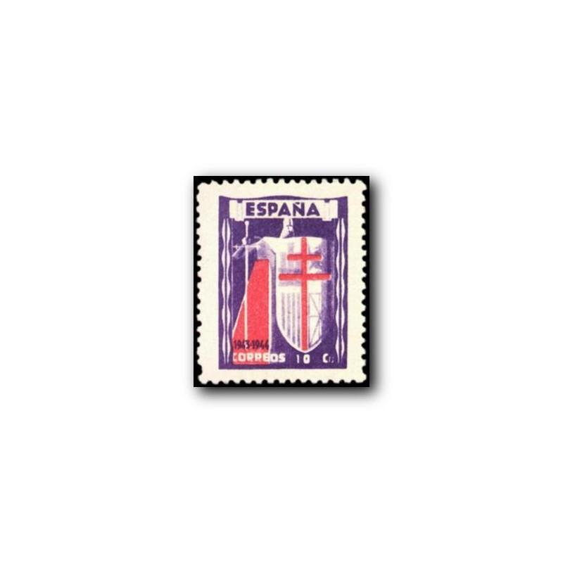 1944 España. Milenario de Castilla. Edif.976 **