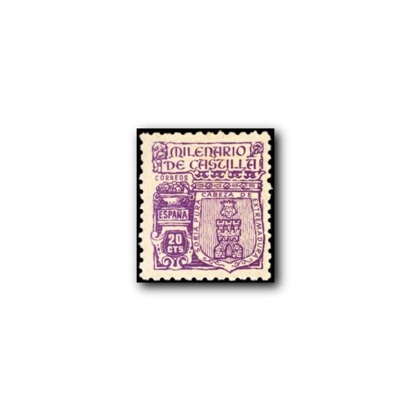 1944 España. Milenario de Castilla. Edif.975 **
