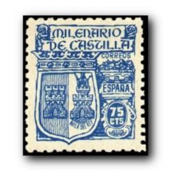 1944 Sellos de España (976). Milenario de Castilla.**