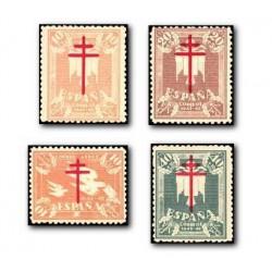 1942 Sellos de España (957/60). Pro Tuberculosis.**