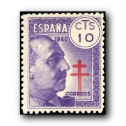 1940 Sellos de España (936Pro-Tuberculosis.**