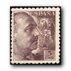 1940 Sellos de España (919General Franco.**