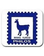 Hojas Álbum de sellos Philos