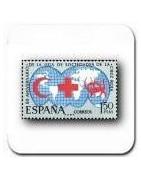 Sellos de Cruz Roja, Cáritas