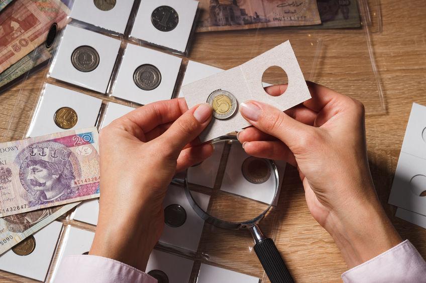Cartones para monedas