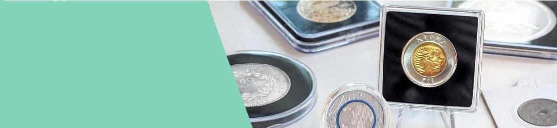 Cápsulas para monedas